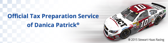 Official Tax Preparation Service of Danica Patrick®